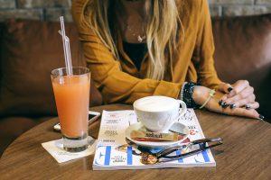 kapućino i sok